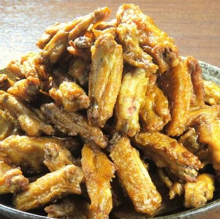 中山の鶏料理専門店[とりいちず]の絶品手羽唐
